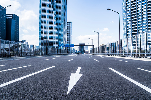 City Life「Urban Road」:スマホ壁紙(2)