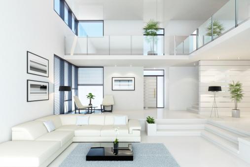 Loft Apartment「Luxury White Villa」:スマホ壁紙(17)