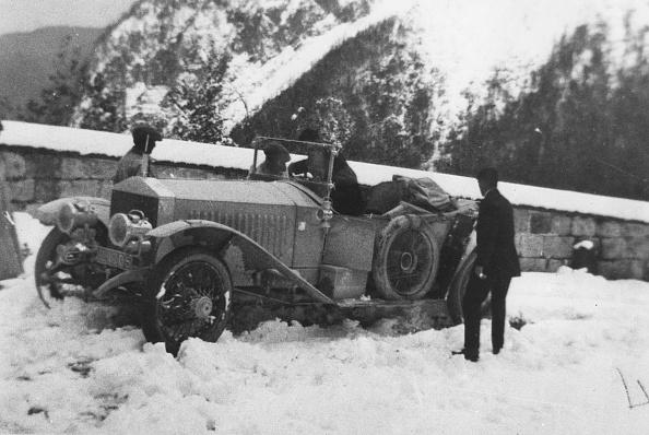 Snowdrift「1913 Rolls - Royce Alpine Eagle On Alpine Trials In Austra. Creator: Unknown.」:写真・画像(5)[壁紙.com]