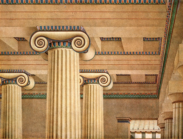Classical Style「Ionic Hall In The Acropolis At Athens」:写真・画像(15)[壁紙.com]