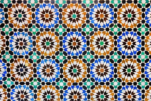 Intricacy「Arabic mosaic inside medina of Fes in Morocco」:スマホ壁紙(18)