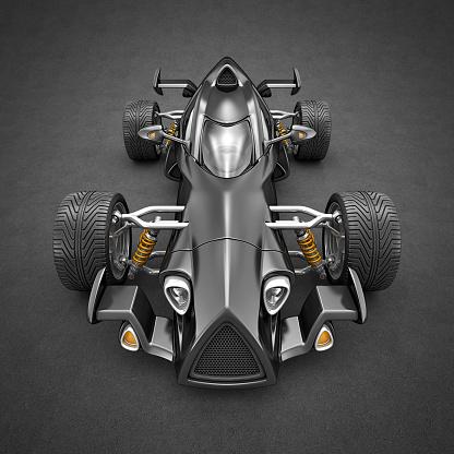 Hot Rod Car「black race car」:スマホ壁紙(1)
