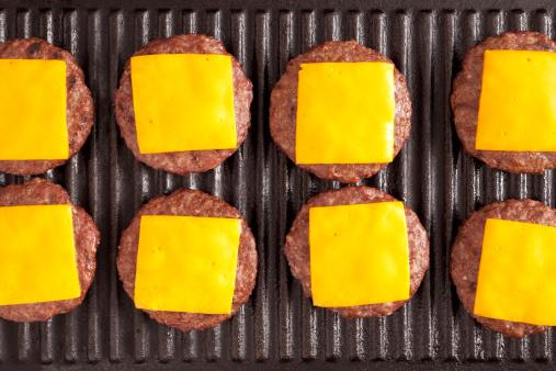 Barbecue Grill「Cheeseburgers」:スマホ壁紙(6)