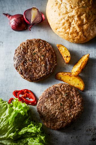Burger「Cheeseburger and potato wedges」:スマホ壁紙(3)
