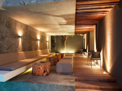 South Africa「Luxurious apartment in the night」:スマホ壁紙(17)