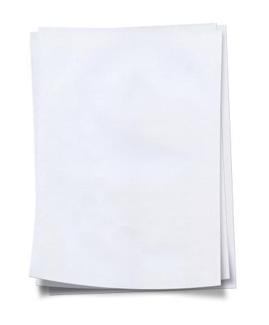 Publication「Stack of neat, fresh, blank white paper」:スマホ壁紙(19)