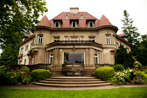 Steps and Staircases「Pittock Mansion」:スマホ壁紙(5)