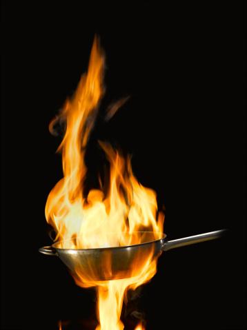 Cast Iron「Flames in wok」:スマホ壁紙(10)