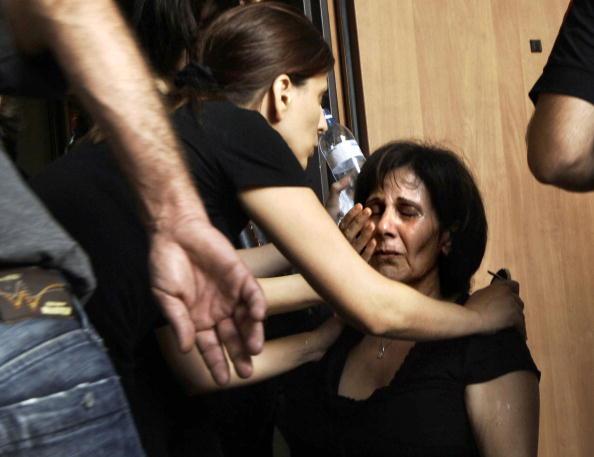 Aggression「Funeral of Israeli Arabs Killed in Hezbollah Attack」:写真・画像(5)[壁紙.com]