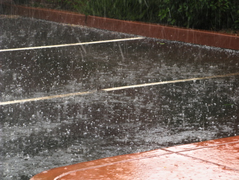 Sedona「Hailstone Storm Hailstorm Parking Lot」:スマホ壁紙(3)