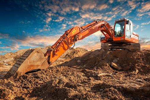 Construction Vehicle「Bulldozer」:スマホ壁紙(10)