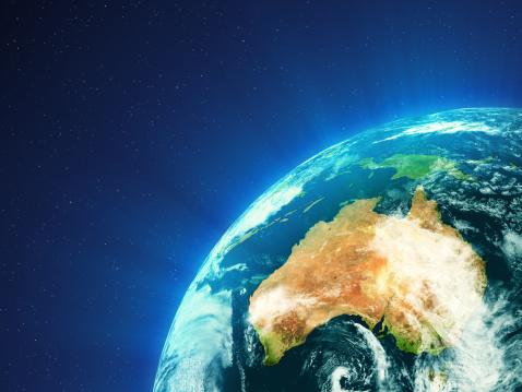Satellite View「Planet Earth - Oceania」:スマホ壁紙(9)