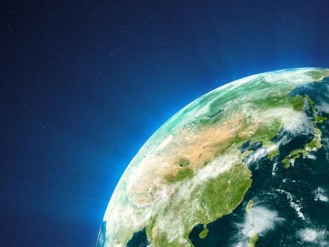 China - East Asia「Planet Earth  - East Asia」:スマホ壁紙(5)