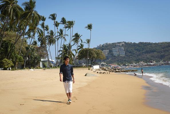 Kei Nishikori「Tennis Pro Kei Nishikori Enjoying Some Down Time In Acapulco, Mexico」:写真・画像(13)[壁紙.com]