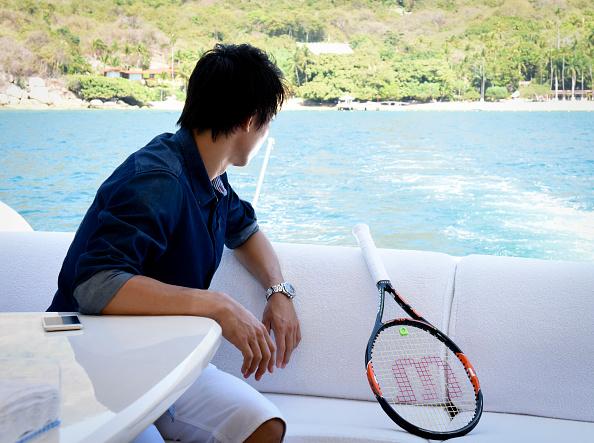 Kei Nishikori「Tennis Pro Kei Nishikori Enjoying Some Down Time In Acapulco, Mexico」:写真・画像(17)[壁紙.com]