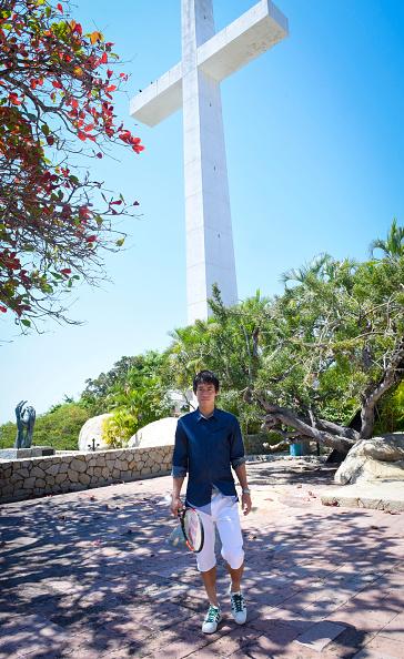 Kei Nishikori「Tennis Pro Kei Nishikori Enjoying Some Down Time In Acapulco, Mexico」:写真・画像(9)[壁紙.com]