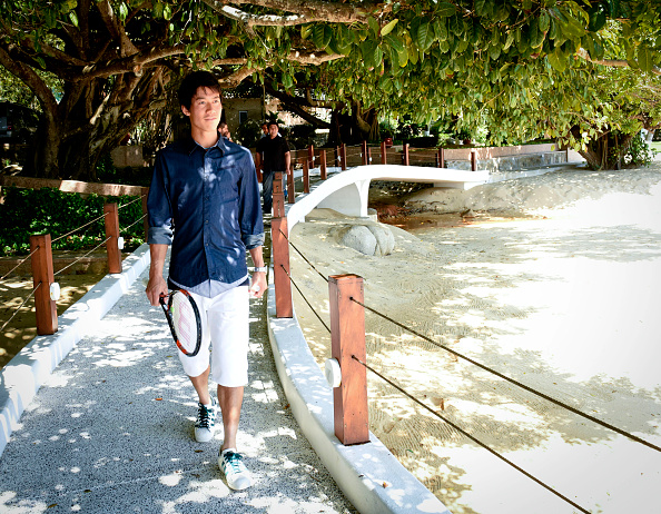 Kei Nishikori「Tennis Pro Kei Nishikori Enjoying Some Down Time In Acapulco, Mexico」:写真・画像(0)[壁紙.com]