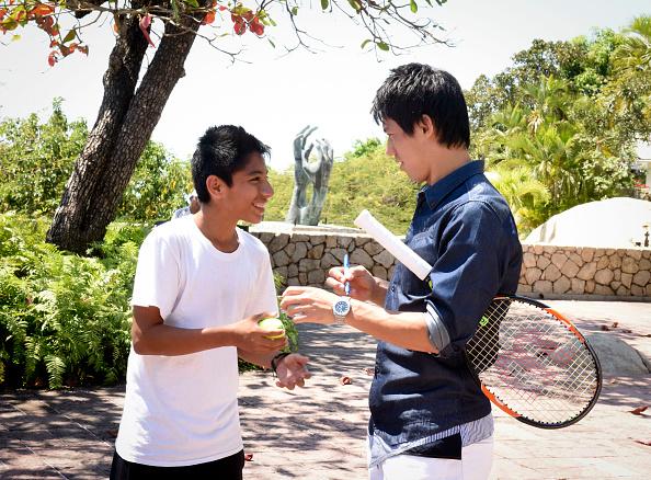 錦織 圭「Tennis Pro Kei Nishikori Enjoying Some Down Time In Acapulco, Mexico」:写真・画像(12)[壁紙.com]