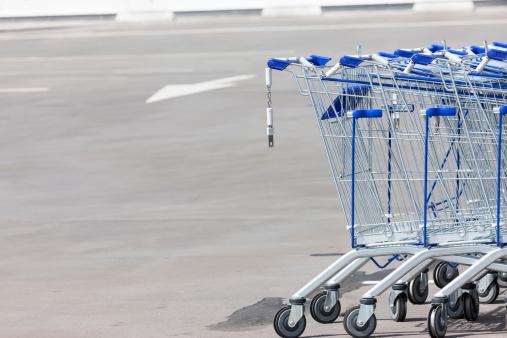 Parking Lot「Shopping carts」:スマホ壁紙(4)