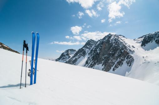 Grenoble「Winter High Mountain Landscape with ski」:スマホ壁紙(13)