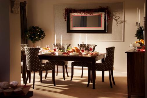 Thanksgiving - Holiday「Lovely Christmas Dinner Setting」:スマホ壁紙(18)