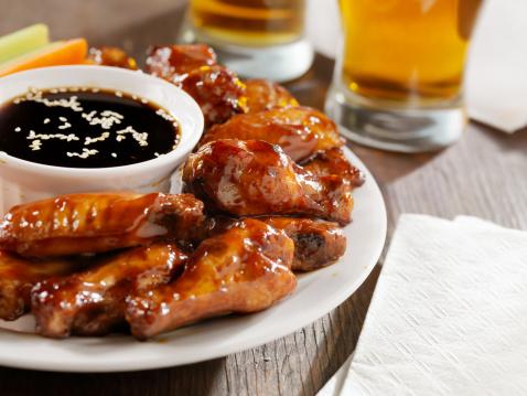 Chicken Wing「Teriyaki Chicken Wings and Beer」:スマホ壁紙(0)