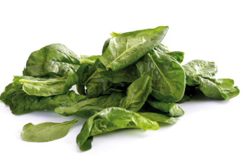 Spinach「Fresh spinach leaves」:スマホ壁紙(18)