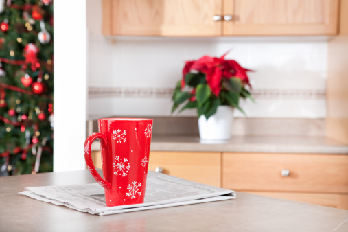 Printout「Christmas morning coffee」:スマホ壁紙(19)