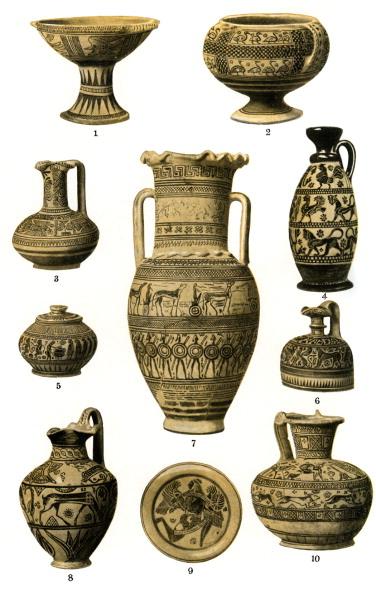 Geometric Shape「The development of Greek pottery」:写真・画像(5)[壁紙.com]