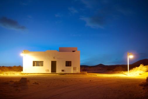 La Graciosa - Canary Islands「Caleta del Sebo village」:スマホ壁紙(7)