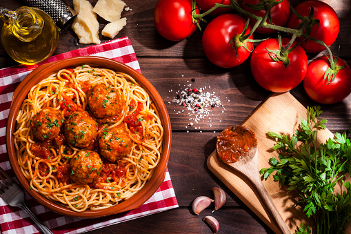 Spaghetti「Spaghetti and meatballs」:スマホ壁紙(16)