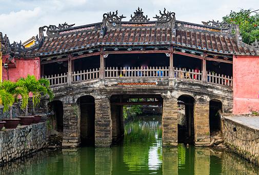 Footbridge「Vietnam, Hoi An, Japanese covered bridge」:スマホ壁紙(11)