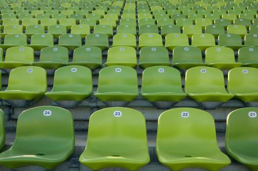 Stadium「Empty stadium seats」:スマホ壁紙(1)