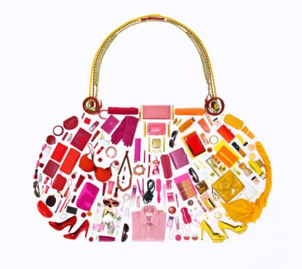 Individuality「Women's belongings in shape of handbag」:スマホ壁紙(18)
