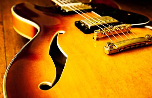 Rock Music「Jazz blues guitar」:スマホ壁紙(3)