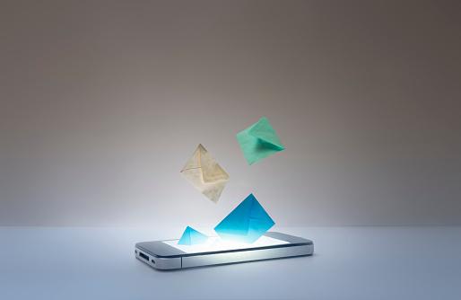 Telecommunications Equipment「mail from a smart phone」:スマホ壁紙(17)
