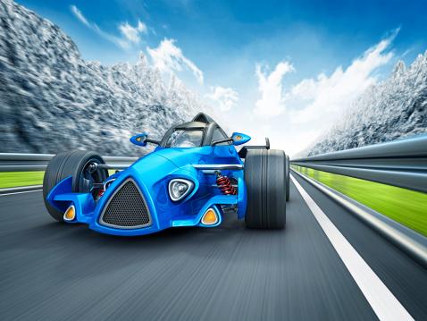 Hot Rod Car「racecar in mountains」:スマホ壁紙(15)