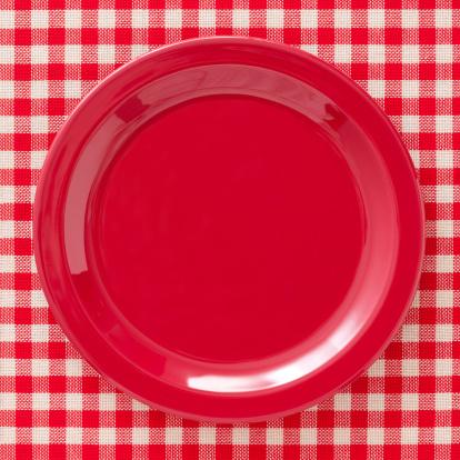 Square Shape「Empty red dish」:スマホ壁紙(13)