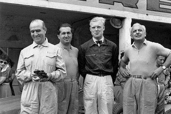Giuseppe Farina「Nino Farina, Alberto Ascari, Grand Prix Of Italy」:写真・画像(12)[壁紙.com]
