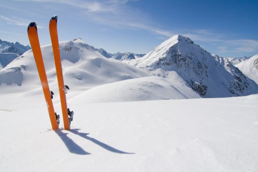 Exploration「ski tour」:スマホ壁紙(16)