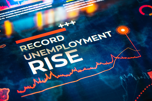 Big Data「Record Unemployment Rise Statistics with Charts and Diagrams」:スマホ壁紙(10)