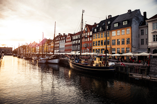 Danish Culture「Nyhavn historic Copenhagen harbor」:スマホ壁紙(14)