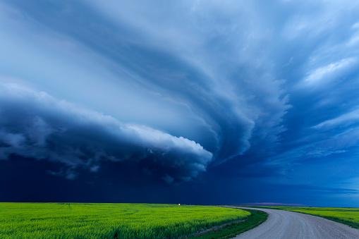 Moose Jaw「Super Cell Prairie Storm Saskatchewan Canada」:スマホ壁紙(6)