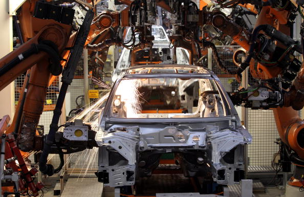 Industry「Audi Production Line Ahead Of Earnings」:写真・画像(0)[壁紙.com]