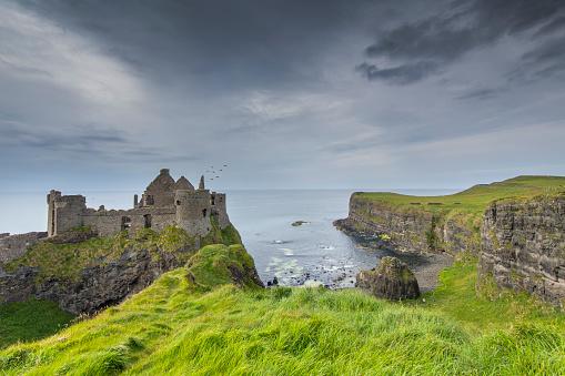 Castle「Dunluce Castle, Ireland」:スマホ壁紙(6)