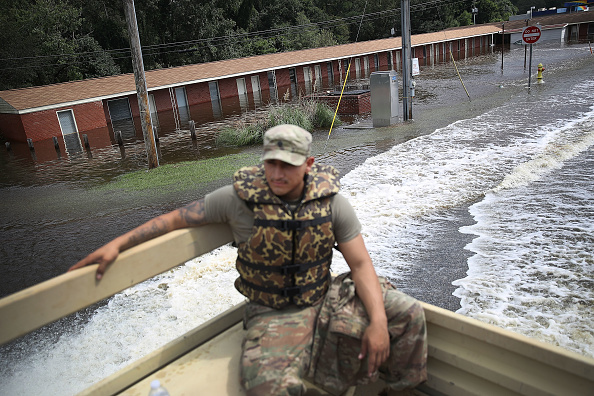 Daniel Gi「Carolinas' Coast Line Recovers From Hurricane Florence, As Storm Continues To Pour Heavy Rain On The States」:写真・画像(16)[壁紙.com]