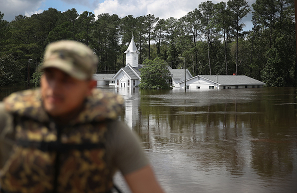 Daniel Gi「Carolinas' Coast Line Recovers From Hurricane Florence, As Storm Continues To Pour Heavy Rain On The States」:写真・画像(18)[壁紙.com]