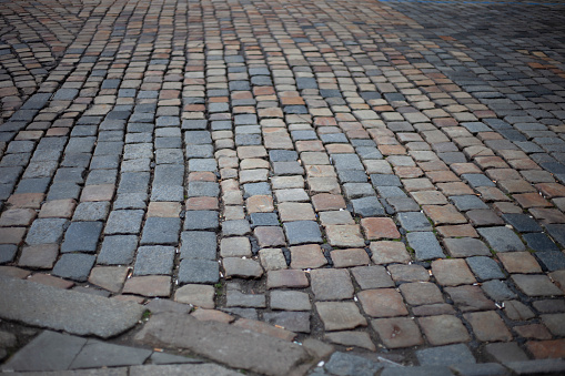 Paving Stone「Cobblestone street」:スマホ壁紙(15)