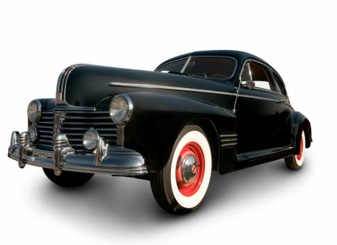 Hot Rod Car「Early Black Pontiac Coupe」:スマホ壁紙(12)