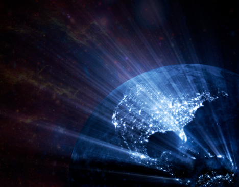 Big Tech「Earth  glowing」:スマホ壁紙(9)